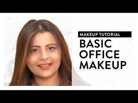 Basic Office Makeup Tutorial 2018