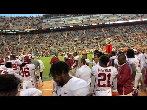 Watch Alabama players give Butch Jones Gatorade bath