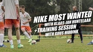 Nike Most Wanted with Joltter and Klaas-Jan Huntelaar