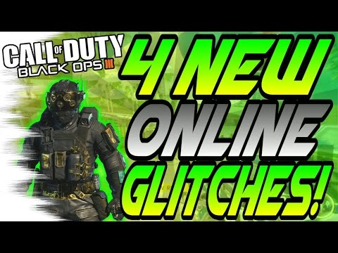 (5/15/16) 4 NEW Online GLITCHES! - Easy to do Wallbreaches! (Black Ops 3/BO3 Glitch)