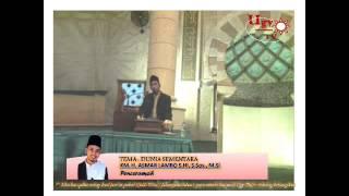 Ustadz Asmar Lambo Dunia Sementara ugyTV