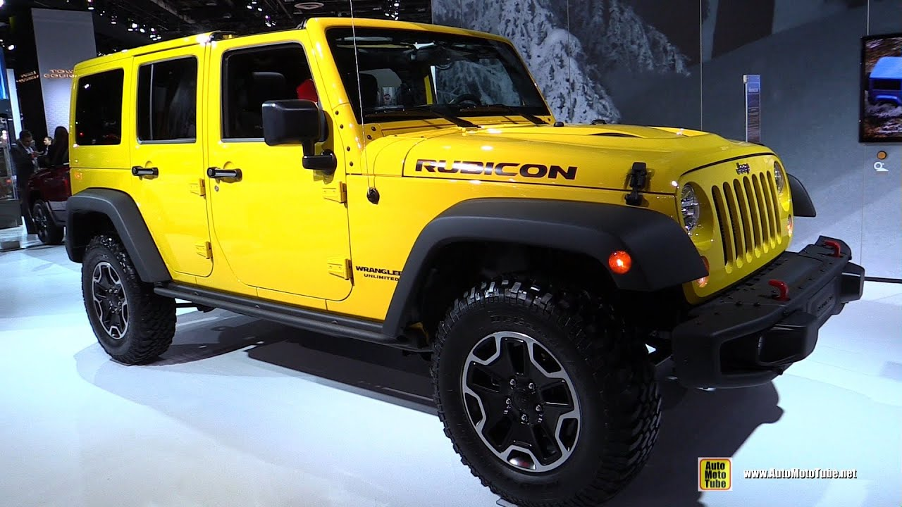 2015 jeep wrangler rubicon hard rock - exterior and interior