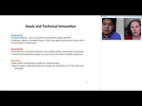 InterDigital Innovation Challenge Video Chat -  Mobile 3D Video System