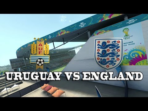 2014 FIFA World Cup Brazil - Group stages - Uruguay vs England