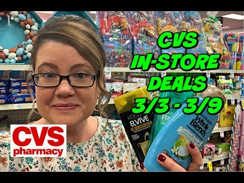 CVS IN-STORE DEALS 3/3 - 3/9 | MONEYMAKER DEODORANT, CHEAP HAIR CARE & SO MUCH MORE!