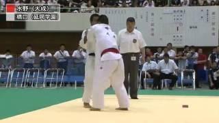 【Men's -66kg】橋口祐葵(延岡学園高) VS 水野隆介(大成高)