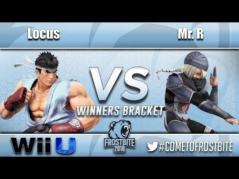 Circa   Locus (Ryu) vs BC   Mr. R - Wii U Top 96 - Frostbite 2018