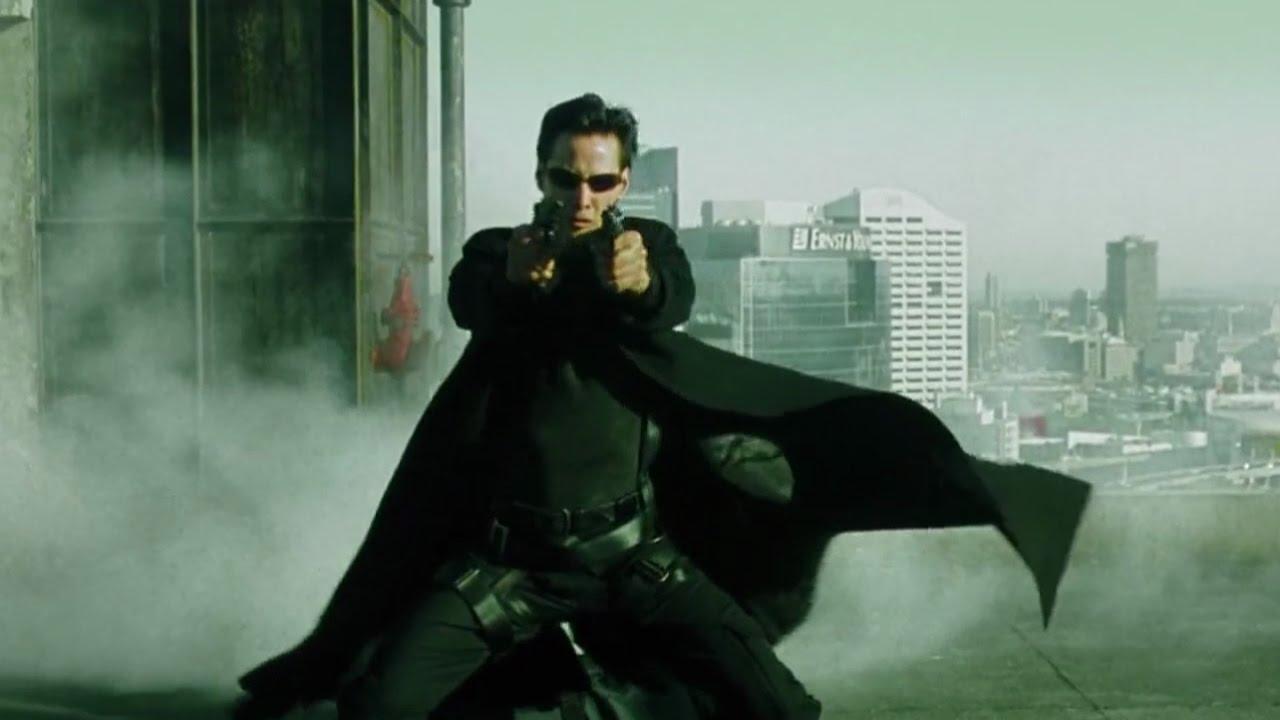The Matrix 1999 Bullet Time Scene 1080p Full Hd Youtube