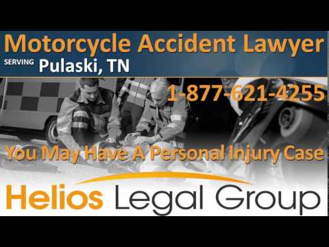 Pulaski Motorcycle Accident Lawyer & Attorney - Tennessee