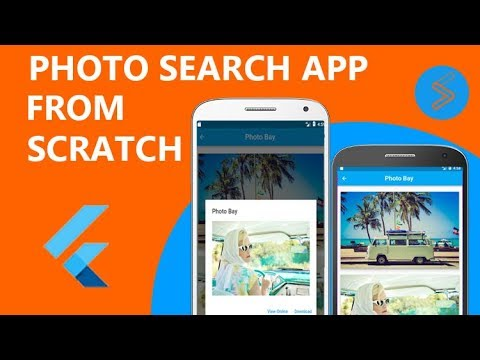 4  Flutter App - getting pictures from json api (part 1)