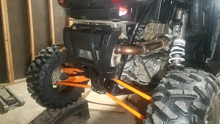 How to reduce the heat in your factory RZR turbo exhaust **(catalytic converter removal)**