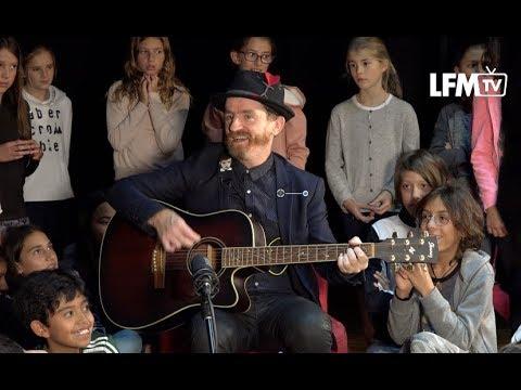 """""""Song for a Jedi"""" - Mathieu Malzieu (Dionysos) - Live Acoustique au Lycée Franco Mexicain"""
