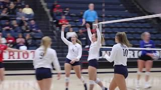DBU Volleyball Highlights vs. St. Mary