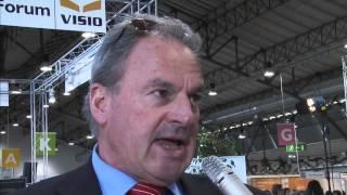 """Visio Tirol 2013 - Live-TV-Studio """"Interview Werner Schranz - Finanzamt Innsbruck"""""""