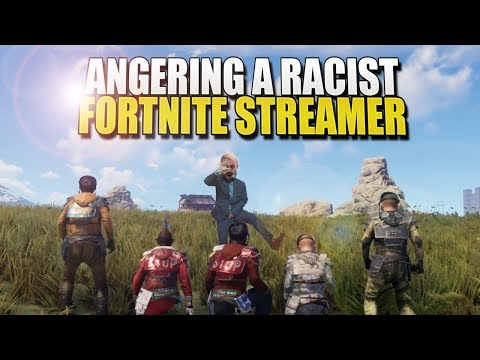 ANGERING A TOXIC FORTNITE STREAMER ON RUST thumbnail