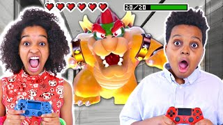 VIDEO GAME IN REAL LIFE! - Shiloh and Shasha - Onyx Kids