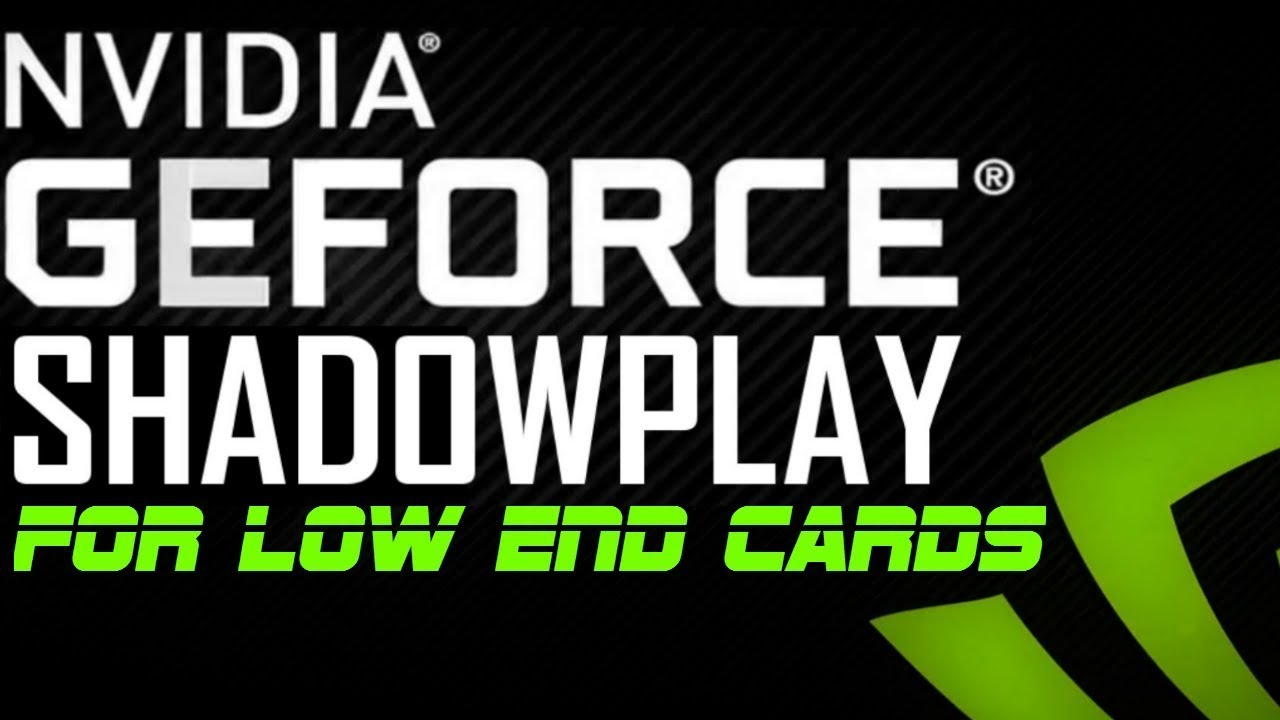 How to run Nvidia ShadowPlay on Any Unsupported GPU *2019*