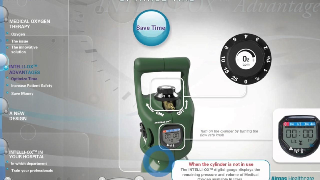 Airgas Healthcare Intelli-ox Demo Video