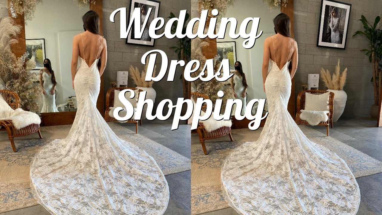 Finding the PERFECT Wedding Reception Dress!!