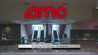 AMC texting during movies
