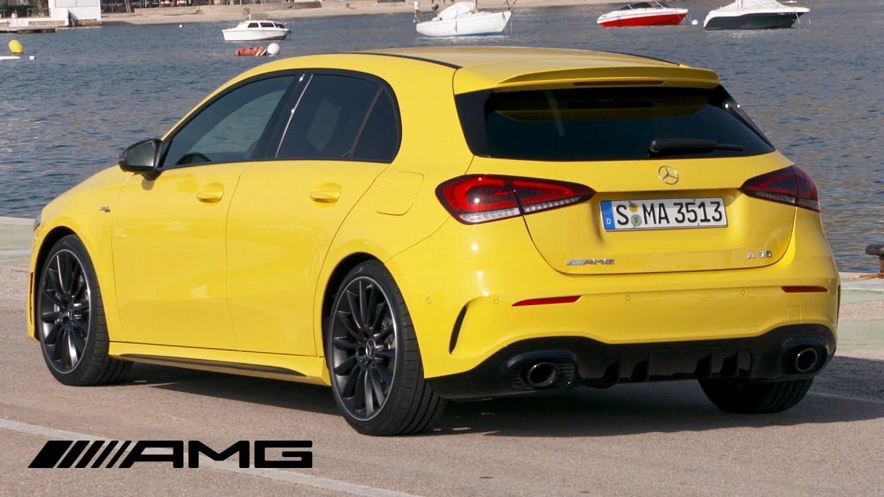 2019 Mercedes-AMG A35 4MATIC | Sun Yellow | Exterior ...