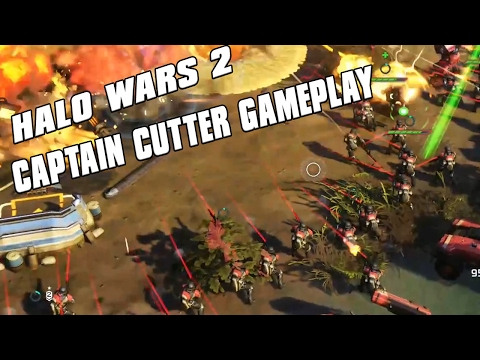 Halo Wars 2 - Captain Cutter Gameplay! ODST Drops!