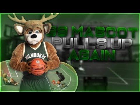 NBA 2K19 99 Overall Mascot Pulls-Up....again