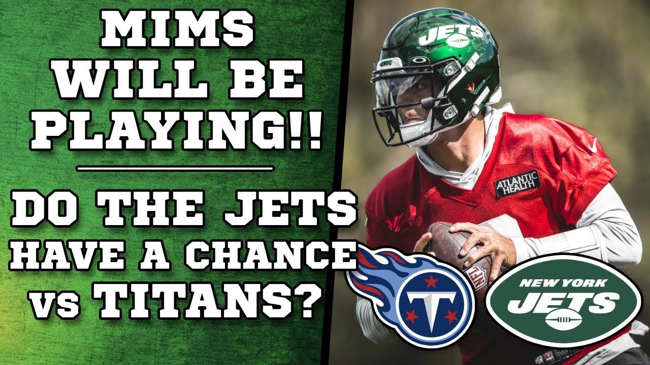 Jets vs Titans Game Thread