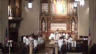"""""""For all the saints, who from their labors rest"""" @ St. John"""