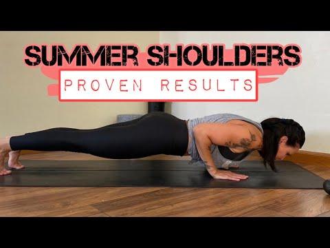 SUMMER SHOULDERS Dumbell / Workout  ✨500 Reps✨ PLUS A Bonus BURN Round