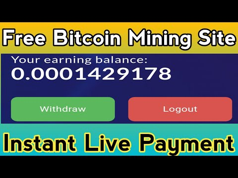 Earn 0.01420 BTC | New Bitcoin Mining Site 2021 | Free Bitcoin Mining Site Without Investment 2021