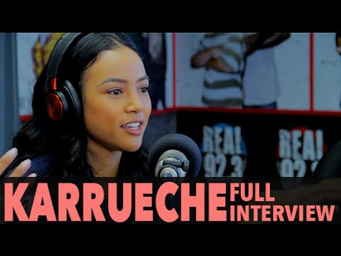 Karrueche Does Louie's Makeup, Talks Christina Milian, Beyonce, And More (Full Interview) | BigBoyTV