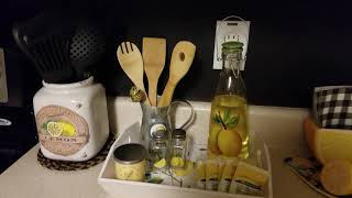 Sweet and simple farmhouse  lemon decor challenge  hosted by Secondhand Tracey Ann