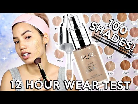 THE SHADE OF IT ALL | PUR COSMETICS 4 IN 1 LOVE YOUR SELFIE FOUNDATION | WEAR TEST REVIEW