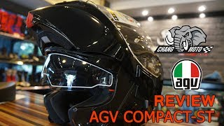 AGV Compact ST Solid plk