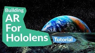 GEREKLİ (KULAKLIK YOK)Hololens için öğretici: Bina AR!