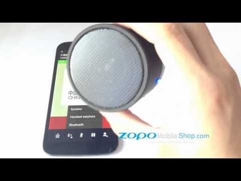 ZOPO ACCESSORIES - PORTABLE BLUETOOTH MINI SPEAKER Works Perfect for ZP980 C2 ZP990 C3 ZP910 ZP820