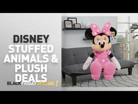 "Walmart Top Black Friday Disney Stuffed Animals & Plush Deals: Disney Minnie Mouse Large 24"" Plush"