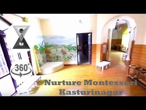 Nurture Montessori Kasturinagar in 360