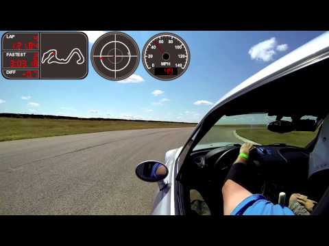 20130908 Track Day - The Driver's Edge - MSR Cresson 3.1 - Green - 2nd Session