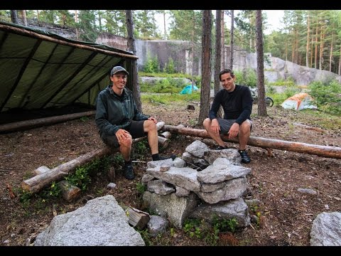 AWESOME FREE CAMPSITE + Viking Biking Oslo, Norway Bike Tour - EP. #59