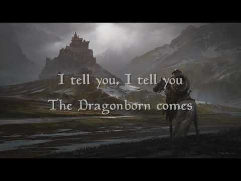 The Dragonborn Comes - Malukah - Lyrics ( extended version )