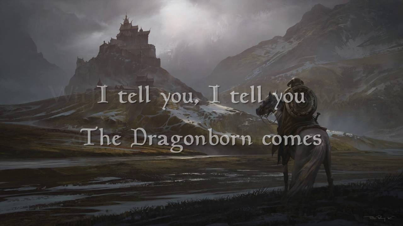 The Dragonborn Comes Malukah Lyrics Extended Version Chords