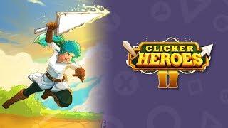 Clicker Heroes II z qbarem