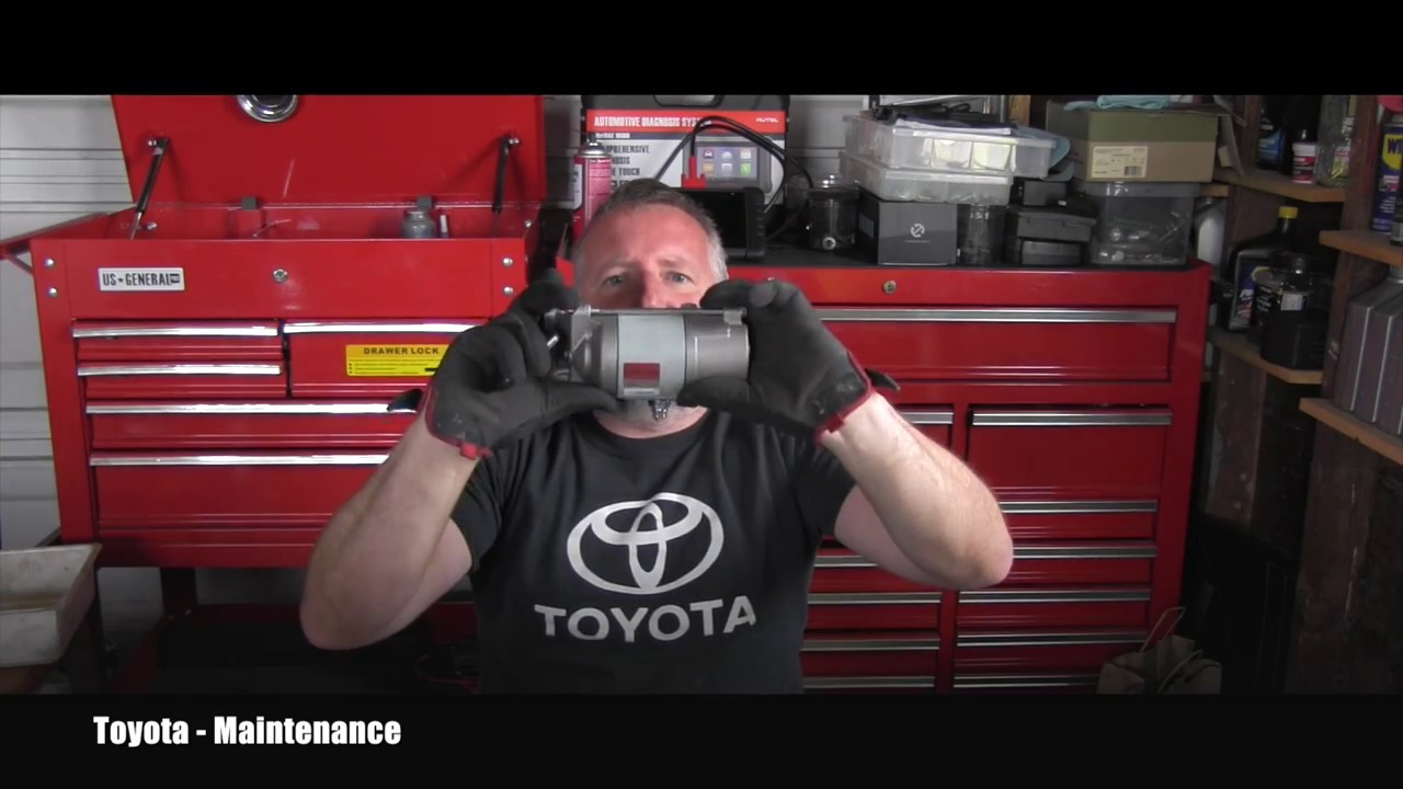 Toyota 4runner Starter Replacement Youtube 2004 Wiring Diagram