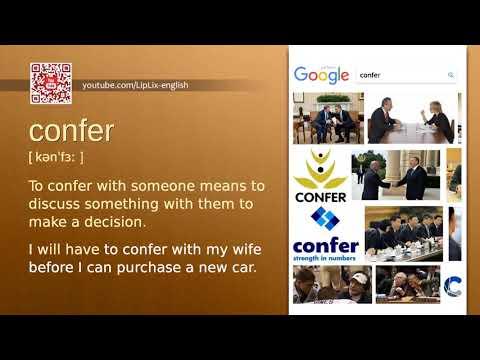 Confer : C1 level english vocabulary lesson, www.LipLix.com