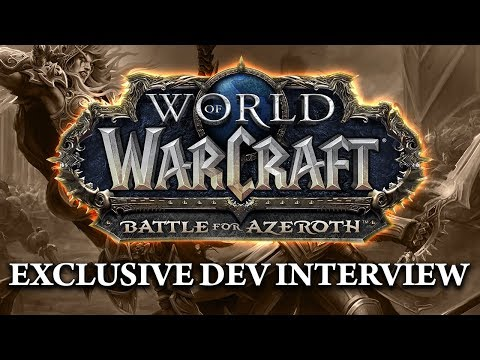 Hotted & Asmongold exclusive interview about Battle for Azeroth NEW WOW EXPANSION!