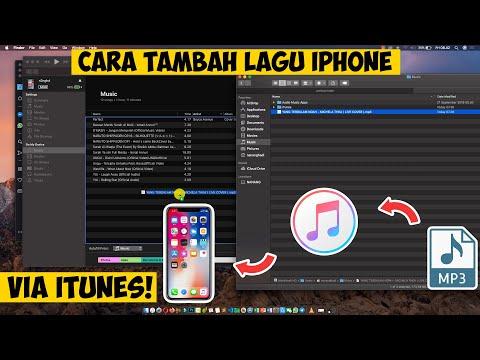 Cara pindahkan musik dari laptop ke iPhone.
