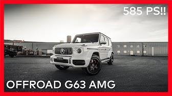 FIRST OFFROAD G63 IN SWITZERLAND !! 585 HP