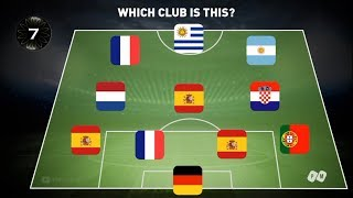 Which club is this? 2020 Football Quiz | PM